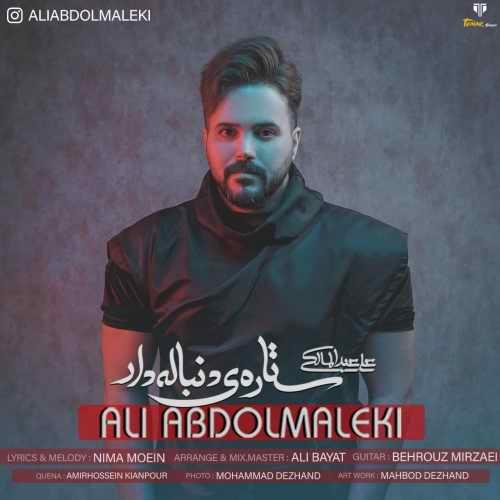 دانلود آهنگ جدید علی عبدالمالکی ستاره ی دنباله دار